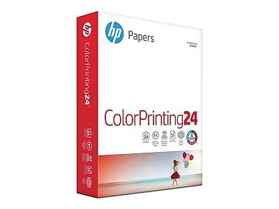 "HP ColorPrinting24 8.5"" x 11"" Color Copy Paper, 24 lbs., 97 Brightness, 500/Ream (HPK115)"