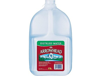 Arrowhead Distilled Water, 128 Fl. Oz., 6/Carton (11475018)