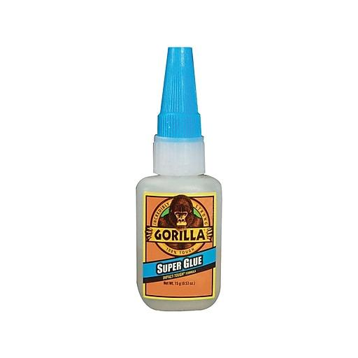 Gorilla Super Glue, 0 53 Oz , 4/Carton (ADHGG11)