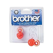 Brother White Correction Tapes, 2/Pack (3010)