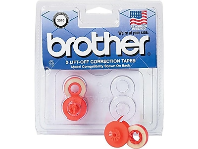 COMPATIBLE BROTHER AX10 ELECTRONIC*CORRECTABLE FILM RIBBON LIFT OFF TAPE COMBO