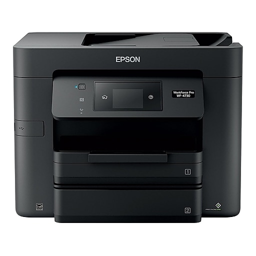 Epson WorkForce Pro WF-4730 C11CG01201 USB, Wireless, Network Ready Color  Inkjet All-In-One Printer