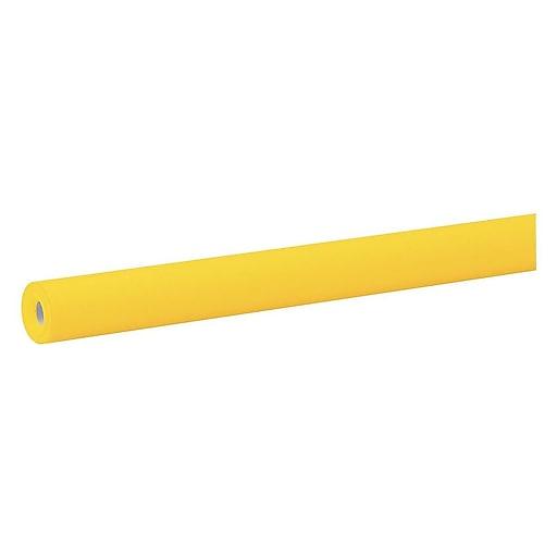 "Fadeless Paper Roll, 48""W x 50'L, Canary (0057085)"