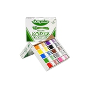 Crayola Washable Markers, Fine, Assorted Colors, 200/Pack (58-8210)
