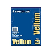 Staedtler Tracing Paper, White, 50/Pack (946 811)