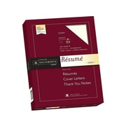 "Southworth 8.5"" x 11"" Resume Paper, 32 Lbs., Wove, 100/Pack (RD18ICF)"