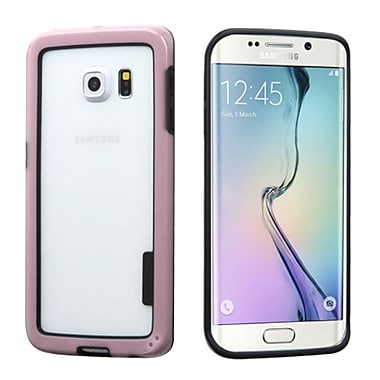 Insten Rubber Bumper For Samsung Galaxy S6 Edge, Pink (2102088)