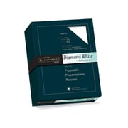 "Southworth Diamond White 8.5"" x 11"" Business Paper, 24 Lbs., Wove, 500/Box (31-224-10)"
