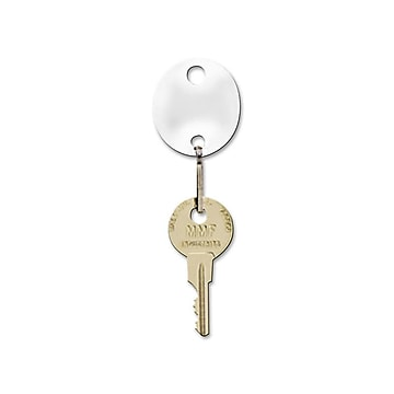 MMF Industries Key Tags, White, 20/Pack (201800706)