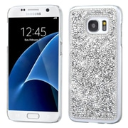 Insten Hard Rhinestone Case For Samsung Galaxy S7 Silver by