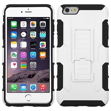 Insten White/Black Hybrid Advanced Armor Hard Stand Case For iPhone 6 Plus 6S Plus 5.5
