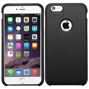 "Insten Slim Hybrid Dual Layer Shockproof Case for iPhone 6s Plus / 6 Plus 5.5"" - Black"