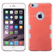 """Insten Soft TPU Rubber Gel Case Cover for iPhone 6s Plus / 6 Plus 5.5"""" - Red"""