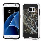 Insten Vines Hard Dual Layer Case For Samsung Galaxy S7 - Yellow/Black