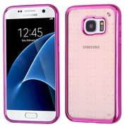 Insten Rubber Case For Samsung Galaxy S7 Hot Pink by