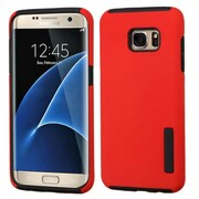 Insten Hard Dual Layer Case For Samsung Galaxy S7 Edge - Red/Black