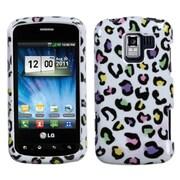 Insten Colorful Leopard Phone Case for LG: VS700 (Enlighten/ Gelato Q), VM701 (Optimus Slider), LS700 (Optimus Slider)