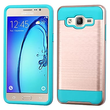 Insten Hard Dual Layer TPU Cover Case For Samsung Galaxy On5, Rose Gold/Blue (2256049)