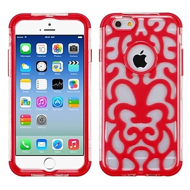 Insten Glow Flower Hard Dual Layer Crystal Silicone Cover Case For iPhone 6S 6 4.7