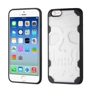 Insten Skullcap Hard TPU Case For Apple iPhone 6/6s - White/Black