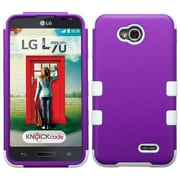 Insten Tuff Hard Case For LG Optimus Exceed 2 VS450PP Verizon/Optimus L70/Realm/Ultimate 2 - Purple