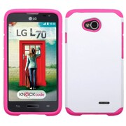 Insten Hard Cover Case For LG Optimus Exceed 2 VS450PP Verizon/Optimus L70/Realm/Ultimate 2 - White