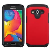 Insten Red/Black Astronoot Phone Dual Layer Hybrid Hard Shockproof Silicone Case For Samsung Galaxy Avant