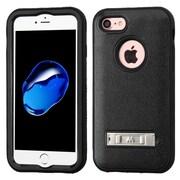 Insten Ultra Slim Hybrid 3-Layer Shockproof Kickstand Case For Apple iPhone 7 - Black