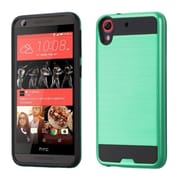 Insten Hard Hybrid Rubberized Silicone Case For HTC Desire 626/626s - Green/Black