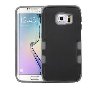 Insten Tuff Merge Hard Cover Case For Samsung Galaxy S6 Edge - Black/Gray
