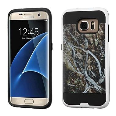 Insten Vines Hard Dual Layer Case For Samsung Galaxy S7 Edge - Yellow/Black