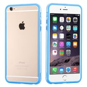 """Insten Rubber Gel Frame Bumper Case Cover for iPhone 6s Plus / 6 Plus 5.5"""" - Blue/Clear"""