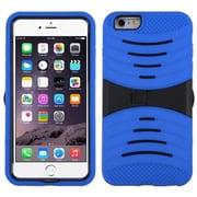 "Insten Symbiosis Gel Hybrid Rugged Shockproof Rubber Hard Case For iPhone 6 Plus / 6S Plus 5.5"" - Blue/Black"