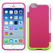 "Insten Hard TPU Cover Case For iPhone 6S 6 4.7"" - Pink/White"