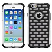 "Insten Black Brick GloCase Hybrid Hard Shockproof Cover Case for Apple iPhone 6 6S 4.7"""