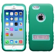 """Insten Baby Green/Forest Green TUFF Hybrid Rugged Hard Shockproof Metal Stand Case for iPhone 6S 6 4.7"""""""