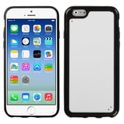 Insten Hard Rubber Cover Case For Apple iPhone 6 - White/Black