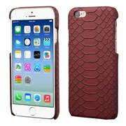 Insten Leather Snake Skin Cover Case For Apple iPhone 6/6s - Red