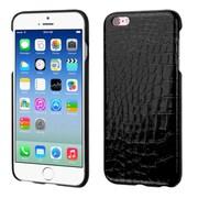 Insten Crocodile Hard Skin Cover Case For Apple iPhone 6/6s - Black