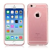 Insten Ultra Thin Clear Rose Gold Rubber TPU Soft Case Cover For iPhone 6S 6