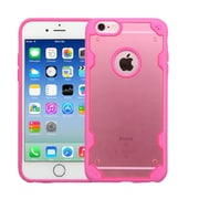 Insten Hard TPU Case For Apple iPhone 6/6s - Rose Gold/Hot Pink