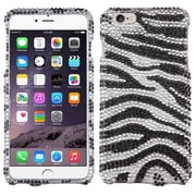 Insten Zebra Hard Bling Case For Apple iPhone 6 Plus - Black/White