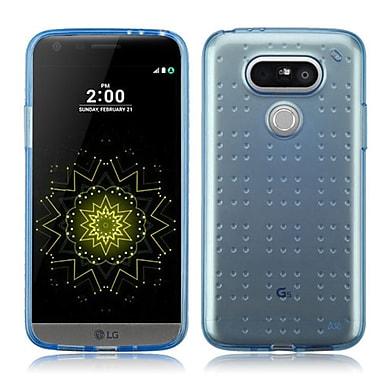 Insten Rubber Cover Case For LG G5 - Blue