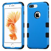 Insten Tuff Hybrid 3-Layer Shock-absorbing Case For Apple iPhone 7 Plus - Blue/Black
