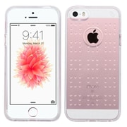 Insten Gel Rubber Skin Case For Apple iPhone SE/5/5S, Clear (2237482)