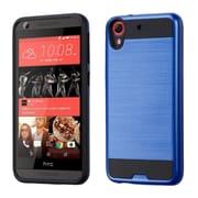 Insten Hard Dual Layer Silicone Case For HTC Desire 626/626s - Blue/Black