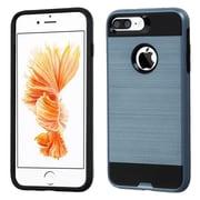 Insten Dual Layer Hybrid Soft TPU Hard Case For iPhone 7 Plus - Blue/Black