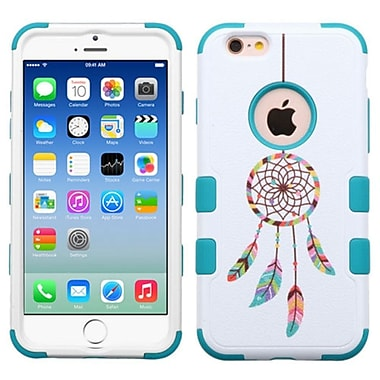Insten Tuff Pastel Dreamcatcher Hard Hybrid Rubber Silicone Cover Case For Apple iPhone 6/6s - Blue/White