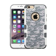 Insten Camouflage Hard Case For Apple iPhone 6 Plus/6s Plus - Gray/White