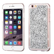 Insten Hard Rhinestone Case For Apple iPhone 6s Plus / 6 Plus - Silver